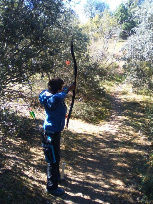 Pablo sanchez en la liga madrilena de recorrido de bosque